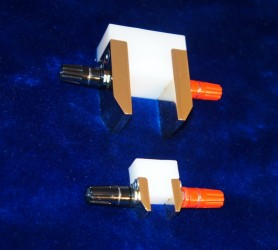 "Electrodes 1"" and 1/2"" size"